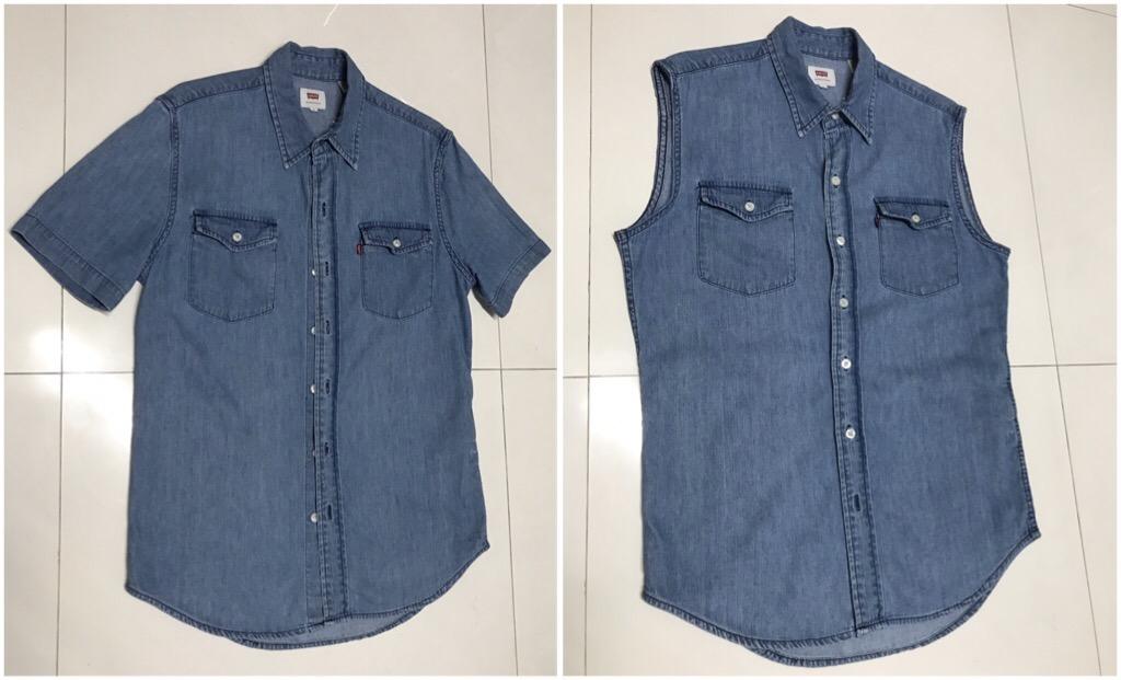 Customizei minha camiseta Jeans 6b1b26e3cd